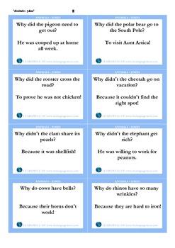 Animals - jokes_cards