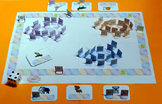 Animals' mishmas: a learning game to write french.