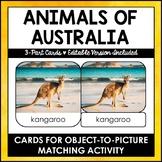 Animals of Australia Safari Toob 3 - Part Cards - Editable