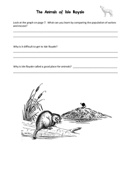 Animals of Isle Royale Comprehension Quizzes for Leveled Reader