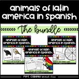Animals of Latin America in Spanish Bundle - Animales de Latinoamerica