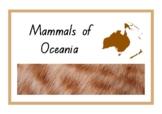 Animals of Oceania / Australasia / Australia - Mammals