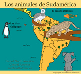 Animals of South America with Spanish by Pepper