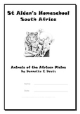 Animals of the African Plains ~ Notebooking Pages & Activity Book