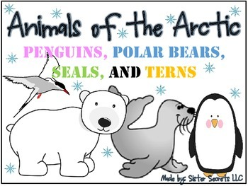 Animals of the Arctic: Penguins, Polar Bears, Seals and Terns