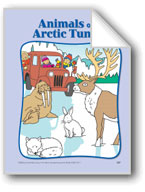 Animals of the Arctic Tundra: Circle-Time Book