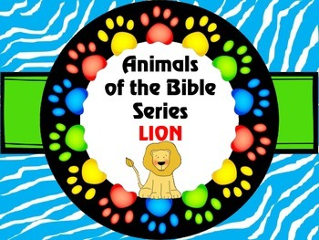 Animals of the Bible Series LION