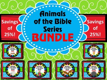 Animals of the Bible Series BUNDLE
