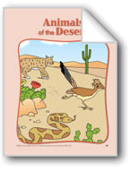Animals of the Desert: Circle-Time Book