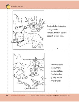 Animals of the Desert: Take-Home Book
