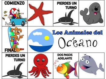 Animals of the Farm, Ocean & Jungle Spanish Board Games