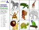 Animals of the Farm, Ocean & Jungle in Spanish (Flashcards & Game)