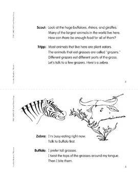 Animals of the Grassland (Leveled Readers' Theater, Grade 2)