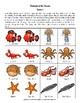Animals of the Ocean: Animal Facts Matching Game
