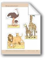 Animals of the Savanna: Storyboard Pieces