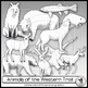 Animals of the West Clip Art