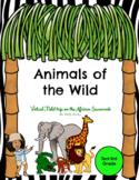 Animals of the Wild Virtual Fieldtrip (Digital-Editable)
