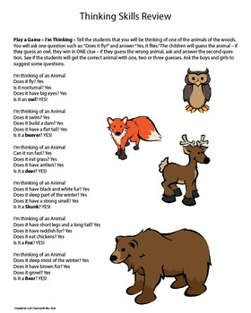 Animals of the Woods