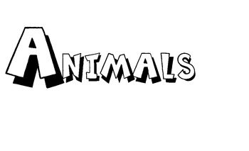 Animals on Parade Print Packet