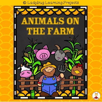 Animals on the Farm  (A Sight Word Emergent Reader and Teacher Lap Book)