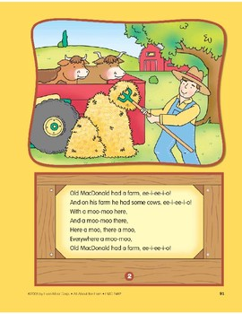 Animals on the Farm: Circle-Time Book