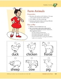 Animals on the Farm: Outdoor and Dramatic Play Activities