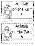 """Animals on the Farm"" -  little reader"