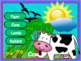 Animals powerpoint game - with real animal sounds - Smart board Activity