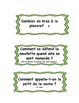 Animals : questions and riddles in French.