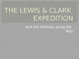 Animals seen by Lewis & Clark