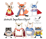 Animals superhero Clipart, Superhero Clipart, animals clip