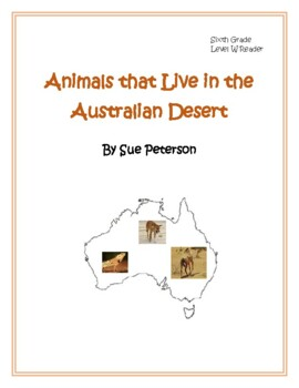 Animals that Live in the Australian Desert