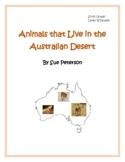 Animals that Live in the Australian Desert