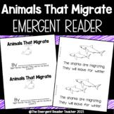 Migrating Animals Emergent Reader - Level C Printable Booklet