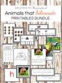 MontessoriLove: Animals that hibernate printables bundle