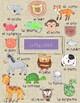 Animals vocabulary sheet-Spanish