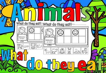 Animals what do they eat-Herbivores(free)