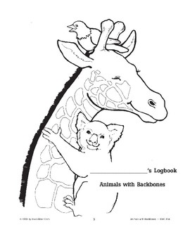 Animals with Backbones: Using Logbooks