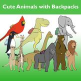 Animals with Backpacks Bundle