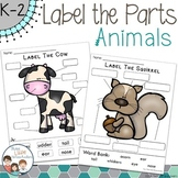 Animals Labeling Center Activities