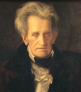"""Animated Andrew Jackson """"Harry Potter Magical Portrait"""""""