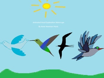 Animated Birds Vocal Explorations