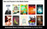 Animated Books Display (Slideshow) for School Libraries / Classrooms
