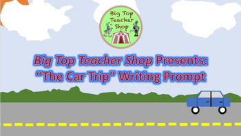 """""""Car Trip"""" Writing Prompt With Questions"""