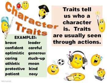 Animated Character Traits Slide Show & Posters
