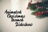 Animated Christmas Google Slides