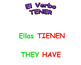 Animated Conjugations of Tener