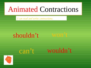 Animated Contractions