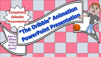 "Animated ""The Dribble"" PowerPoint Background"