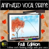 Animated Fall Vocal Sirens